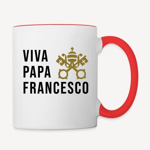 VIVA PAPA FRANCESCO - Contrasting Mug
