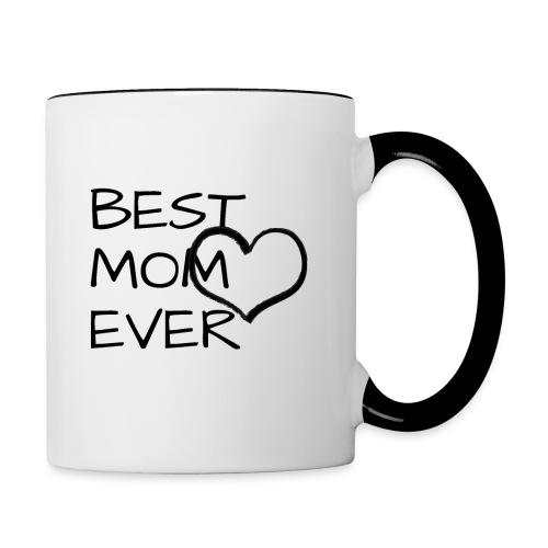Beste Mama der Welt Tasse - Tasse zweifarbig