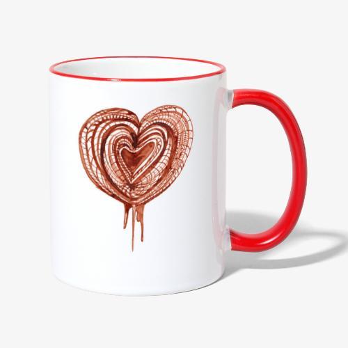 muscular pump transp - Contrasting Mug