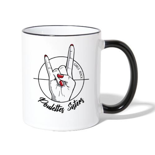 Hell Yeah Hand - Mug contrasté