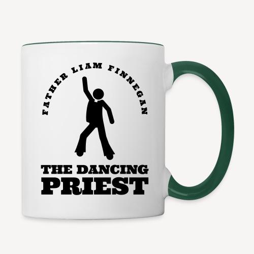 FATHER LIAM - THE DANCING PRIEST - Contrasting Mug