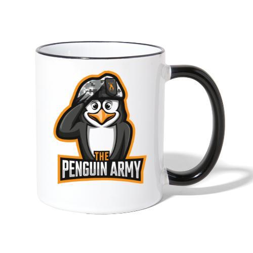 The Penguin Army Logo - Tasse zweifarbig