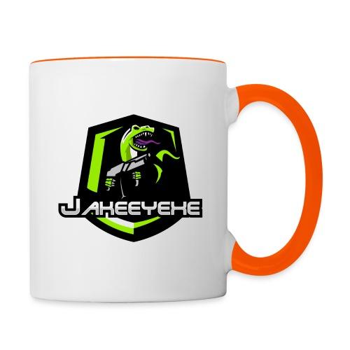 JakeeYeXe Badge - Contrasting Mug