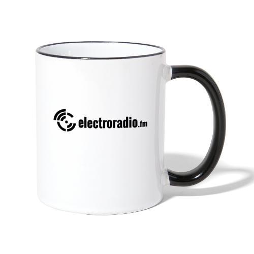 electroradio.fm - Contrasting Mug