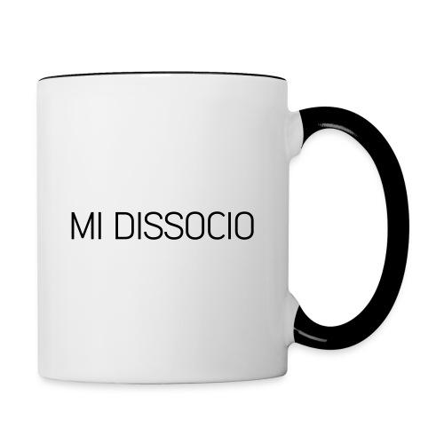 MI DISSOCIO 01 - Tazze bicolor