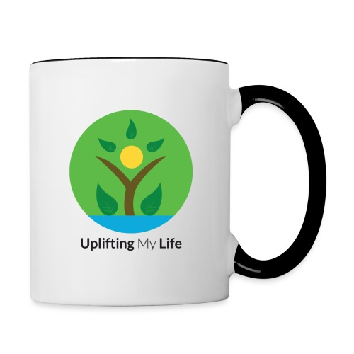 Uplifting My Life Official Merchandise - Contrasting Mug