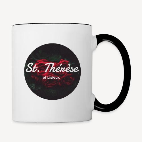 St Therese of Lisieux - Contrasting Mug