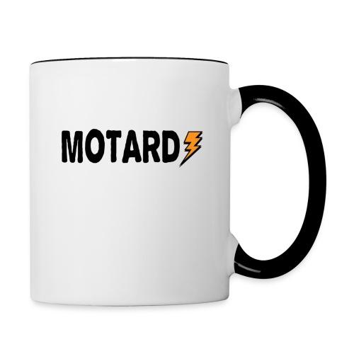 Motard Power Logo Moto - Tazze bicolor