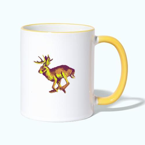 Fantasy Wolpertinger - Contrasting Mug
