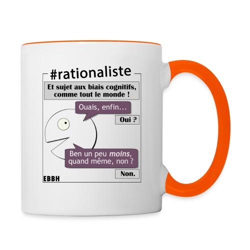 Rationalisme et biais cognitifs - Mug contrasté