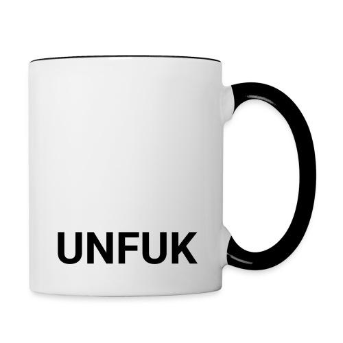 UNFUK - Tasse zweifarbig