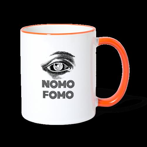 NOMO FOMO - Contrasting Mug