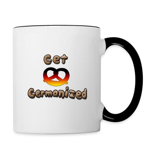 Get Germanized Pretzel - Contrasting Mug