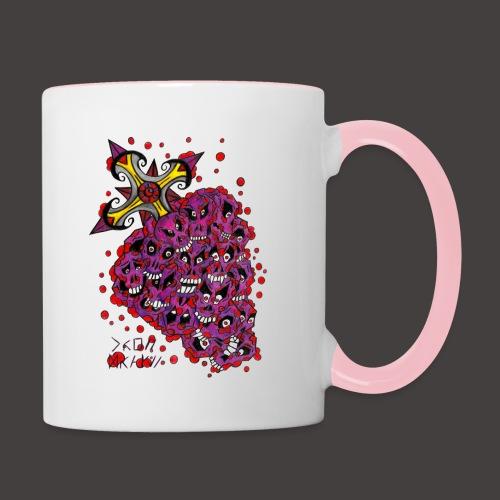 Cross Grapes - Mug contrasté