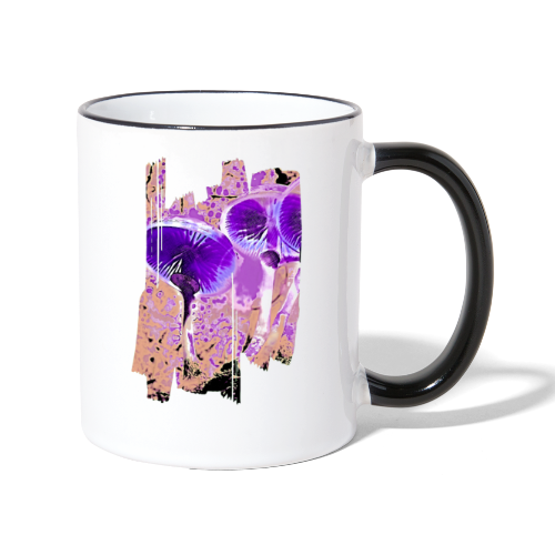 Fancy mushrooms - Contrasting Mug