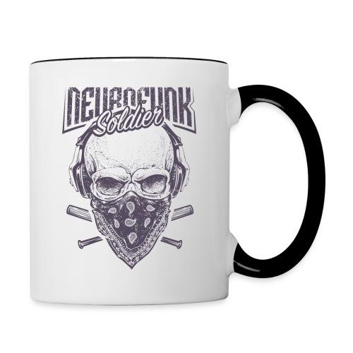 neurofunk soldier - Mug contrasté