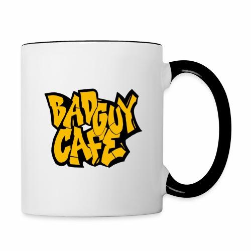 Bad Guy Cafe Logo - Contrasting Mug