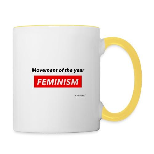 Feminism - Contrasting Mug