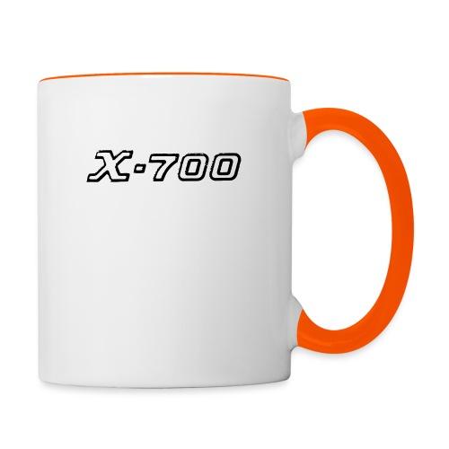 Minolta X-700 White - Tazze bicolor