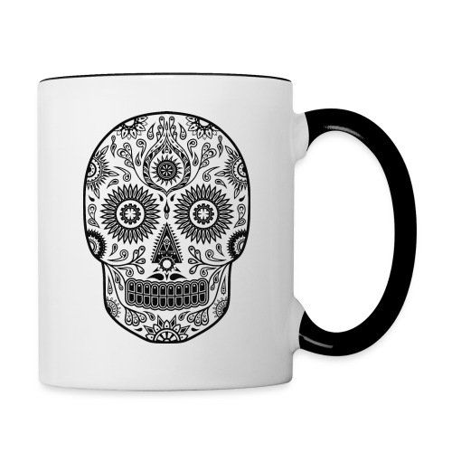 Fantasy Skull - Tasse zweifarbig