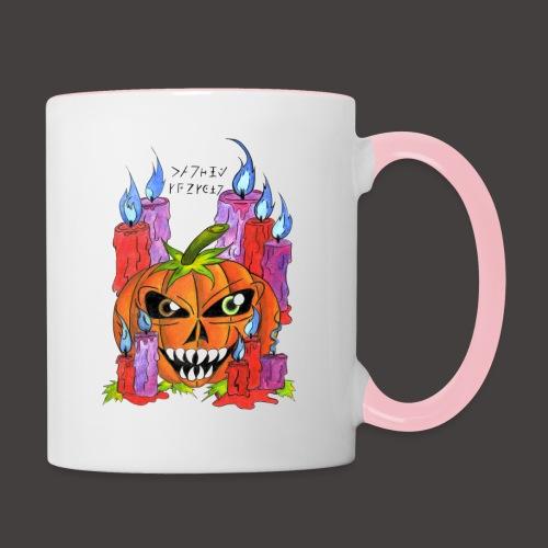 CANDLE PUMPKIN - Mug contrasté