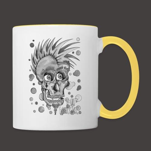 Autoportrait Noir et Blanc - Mug contrasté