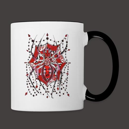 Spider Dentelle Red - Mug contrasté