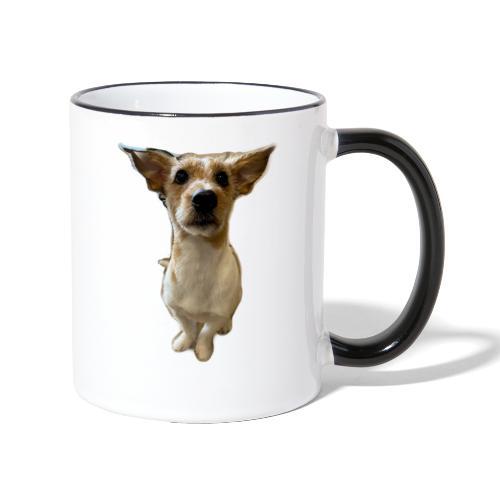 LackyDog - Tasse zweifarbig