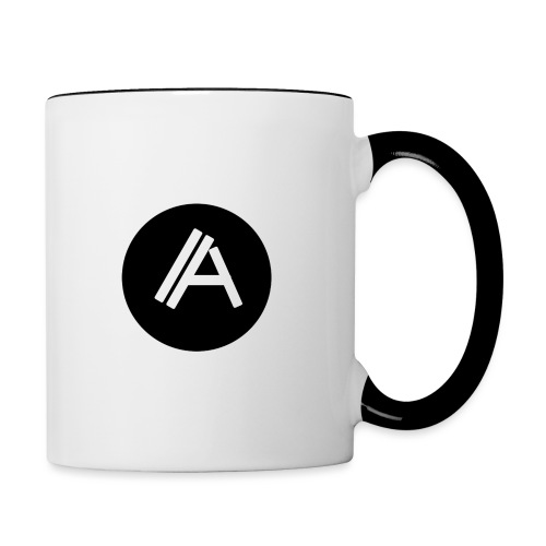 Logo Andyboy - Tasse zweifarbig