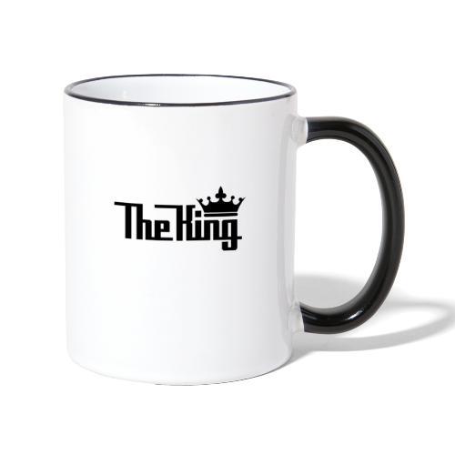TheKing - Tasse zweifarbig