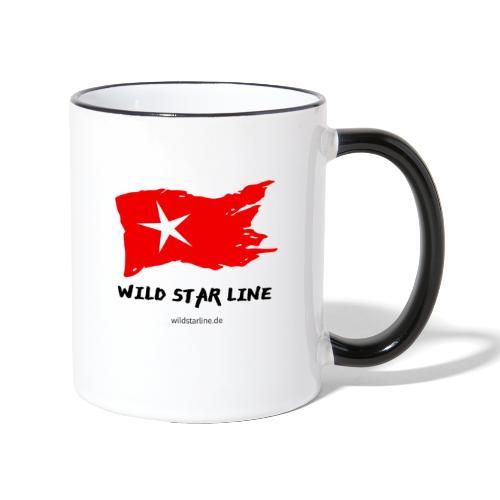 Wild Star Line - Tasse zweifarbig