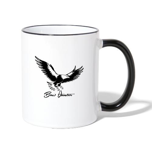 Eagle Bow Hunter - Tasse zweifarbig