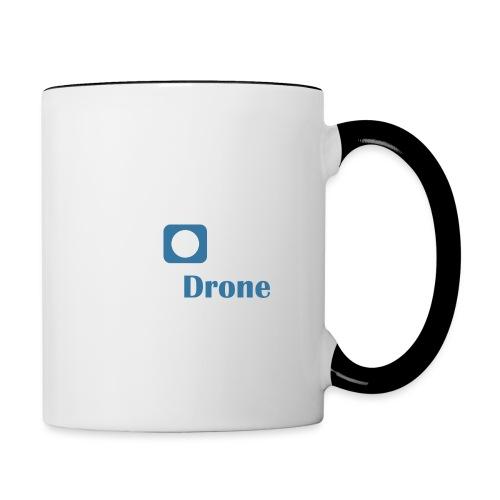 ListerDrone logo - Tofarget kopp