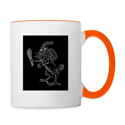 Krampus 2 - Contrasting Mug