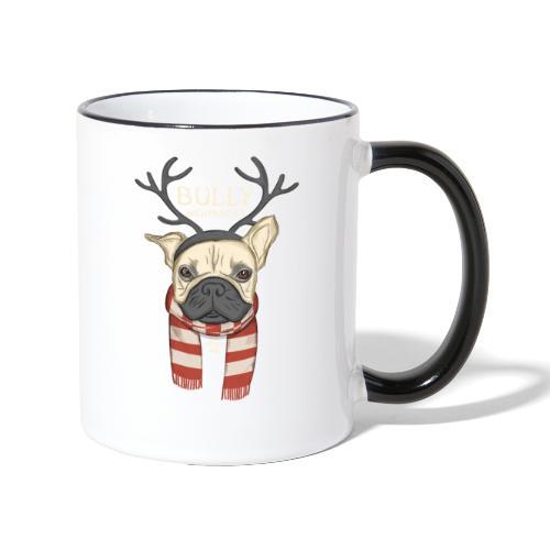Bully Weihnacht - Tasse zweifarbig