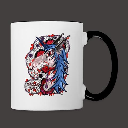 Vampiry Baty fond Noir - Mug contrasté