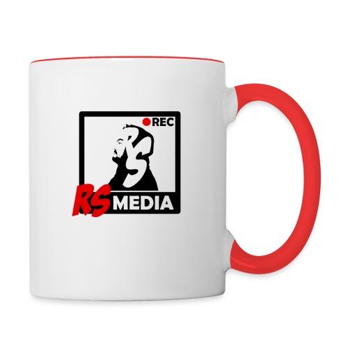 RS Media Logo - Tasse zweifarbig
