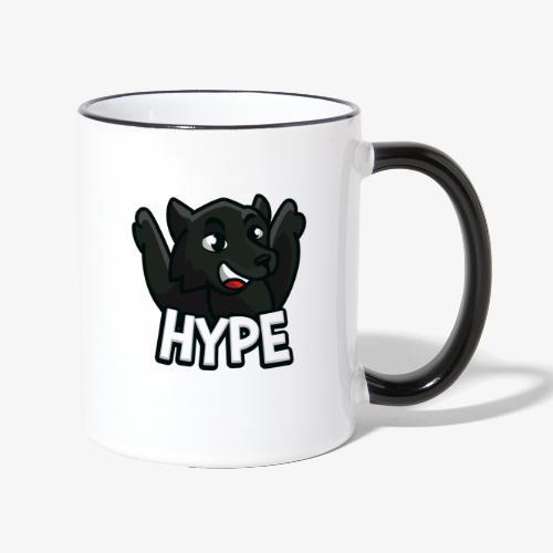 Wolf Hype - Tasse zweifarbig