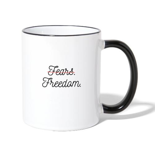 FEATS - FREEDOM - Mug contrasté