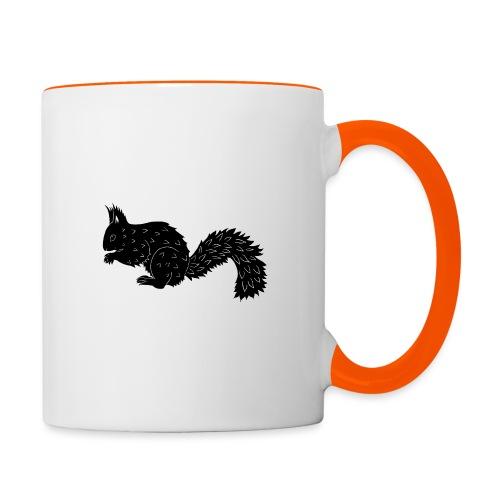 Squirrel - Contrasting Mug