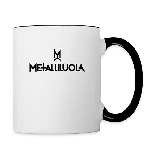 Metalliluola - Kaksivärinen muki