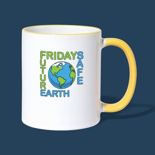 Safe Our Earth - Tasse zweifarbig