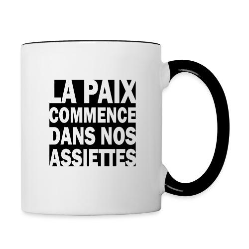 PAIX2 - Mug contrasté