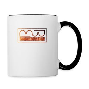 Cap logo Orange - Contrasting Mug