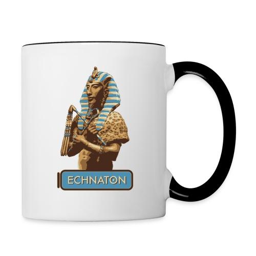 Echnaton – Sonnenkönig von Ägypten - Tasse zweifarbig