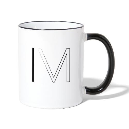M4RV Logo Mok - Mok tweekleurig