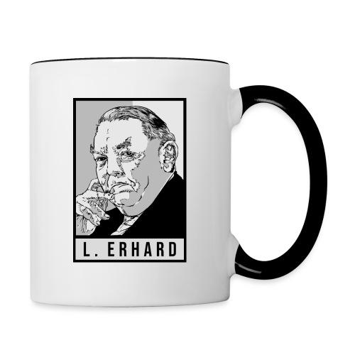 Ludwig Erhard (CDU) - Tasse zweifarbig