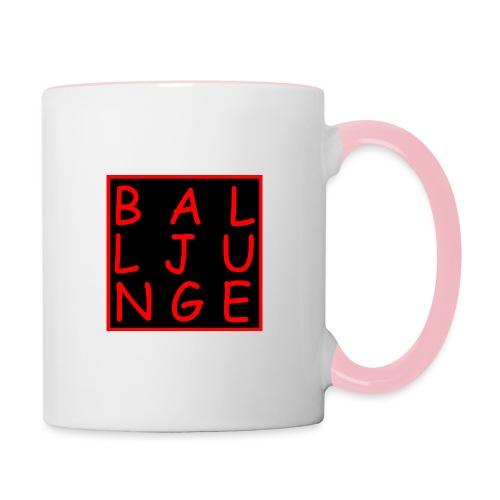 Balljunge - Tasse zweifarbig