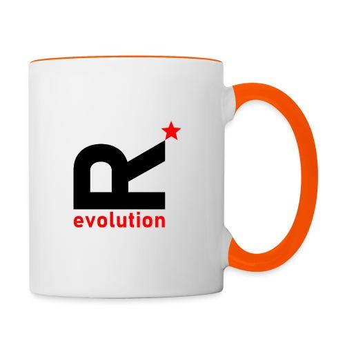 R evolution - Tasse zweifarbig