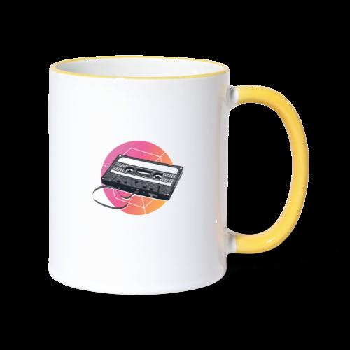 80s Vintage Cassette - Contrasting Mug